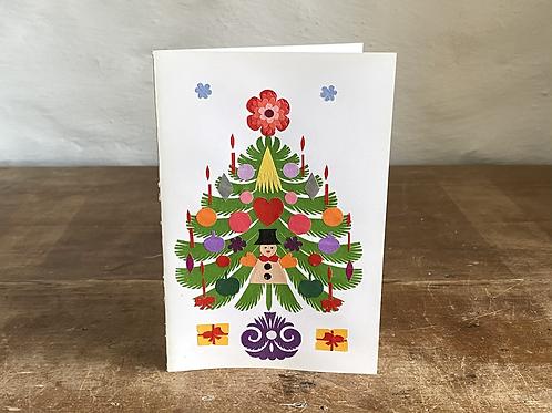 Folk art Christmas card No.2