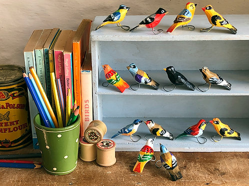Mila wooden bird