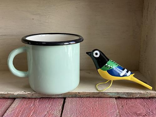 Jolly wooden bird