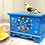 Thumbnail: Blue folk art wooden box No.2