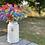 Thumbnail: Paper cockerel decorations on a stick