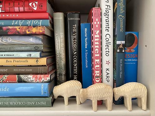Wooden sheep No.3