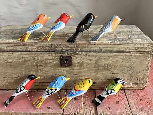 Karol wooden birds