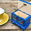 Thumbnail: Little blue painted wooden box No.1