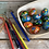 Thumbnail: Olha painted wooden Easter egg