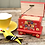 Thumbnail: Little red painted wooden box No.1