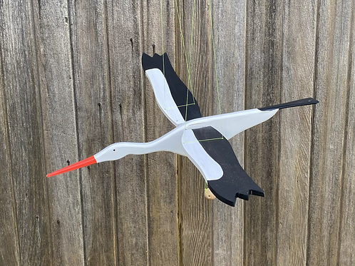 Wood stork mobile