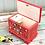Thumbnail: Red folk art wooden box No.2