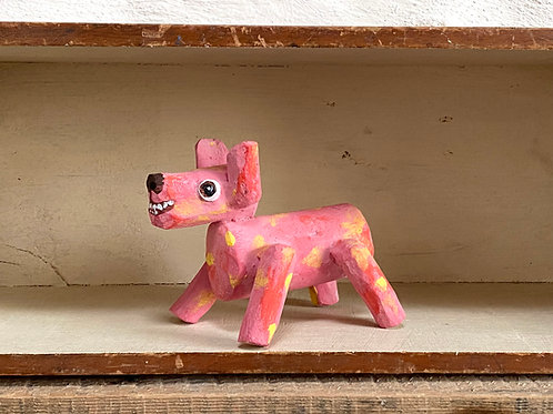 Maksio the wooden dog