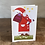 Thumbnail: Folk art Christmas card No.5