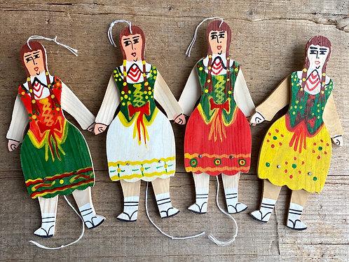 Agatka wooden doll