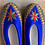 Thumbnail: Danuta blu/grey slippers size 38
