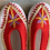 Thumbnail: Danuta white/red slippers size 39