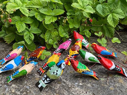 Rafal wooden birds