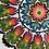 Thumbnail: Floral pattern paper cut No.1