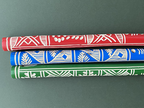 Wooden toy flute