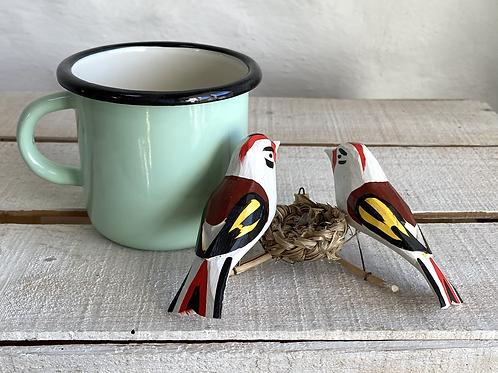 Birds and a nest No.2