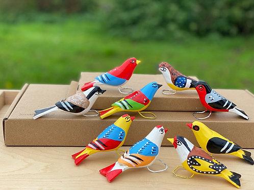 Marian wooden birds