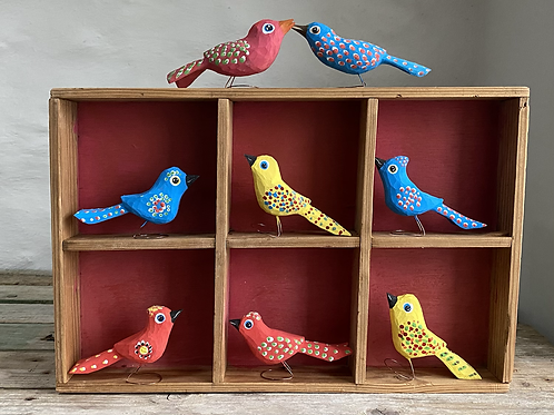 Antek wooden bird