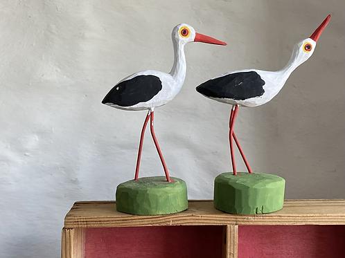 Luko wooden stork