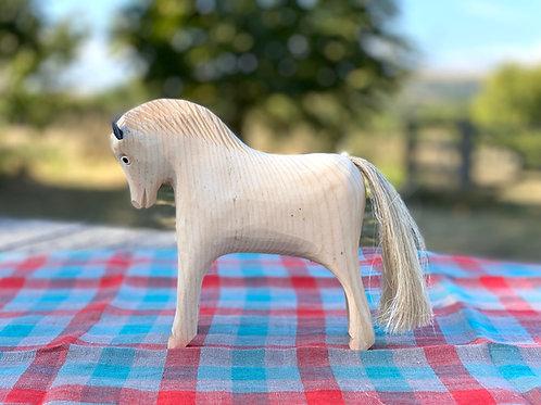 Nina wooden horse