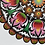 Thumbnail: Floral pattern paper cut No.2