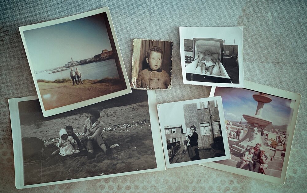 Personal collection of family photographs