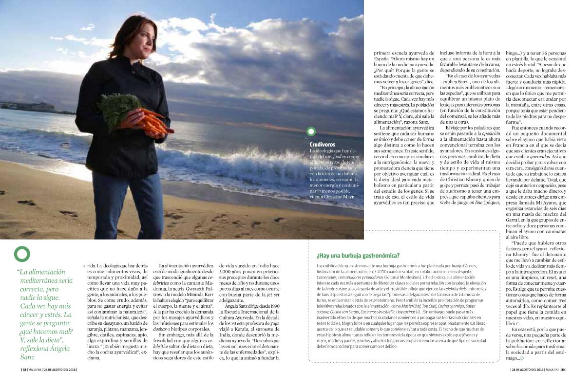 la vanguardia el magazine christine mayr 2