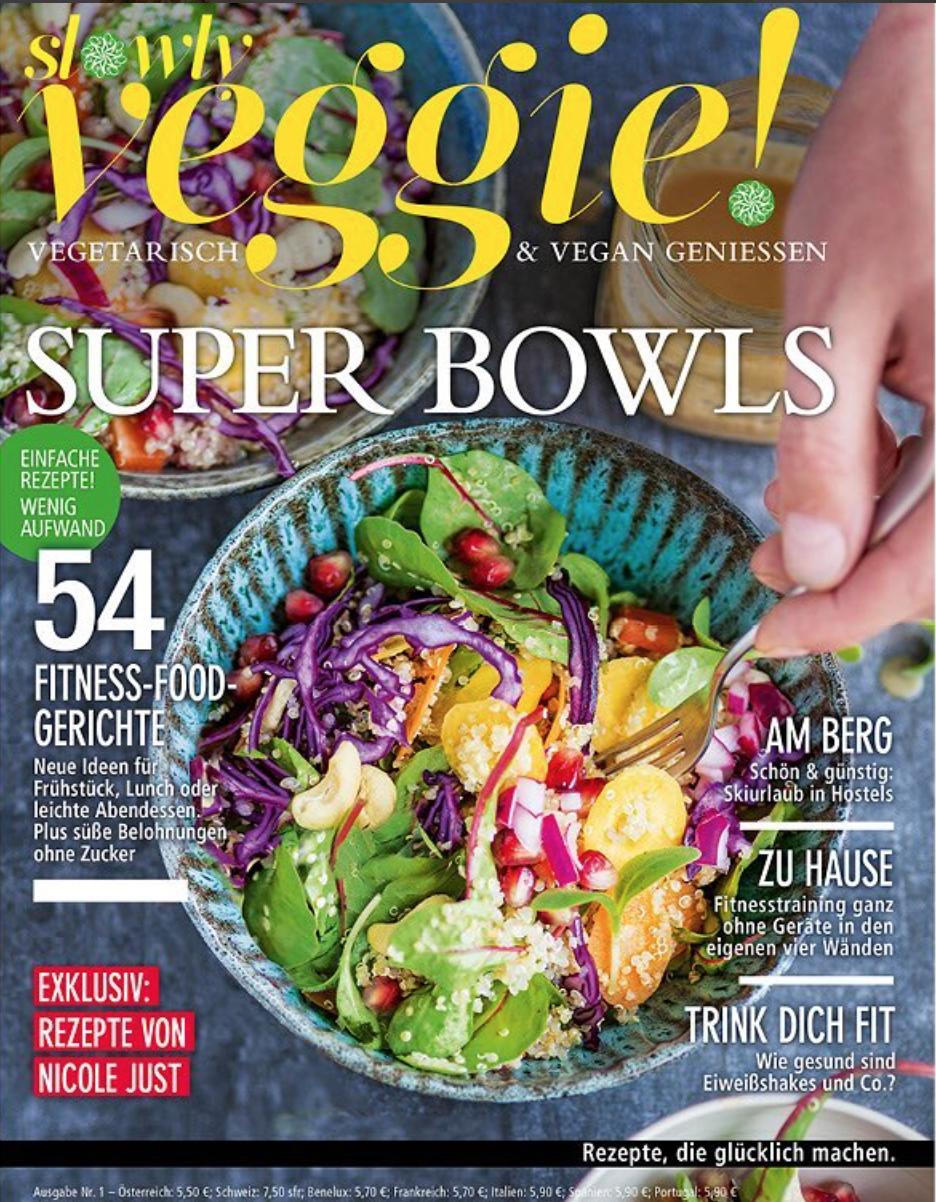 Slowly Veggie Magazin 2I2018