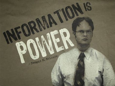 They say Information is power but so is awareness, the more so