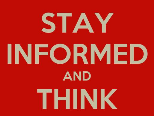 READ, Stay informed!