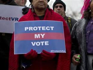 No Vote Justice, No Peace