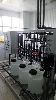 """Установка деионизации воды марки """"В""""  производительностью от 4 до 5 м3/ч"""