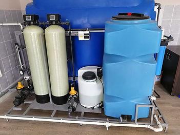 Станция водоподготовки производительностью  1 м3/час для бутилированной питьевой воды