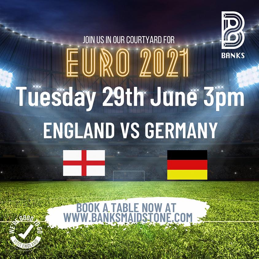 EURO 2021- ENGLAND VS GERMANY