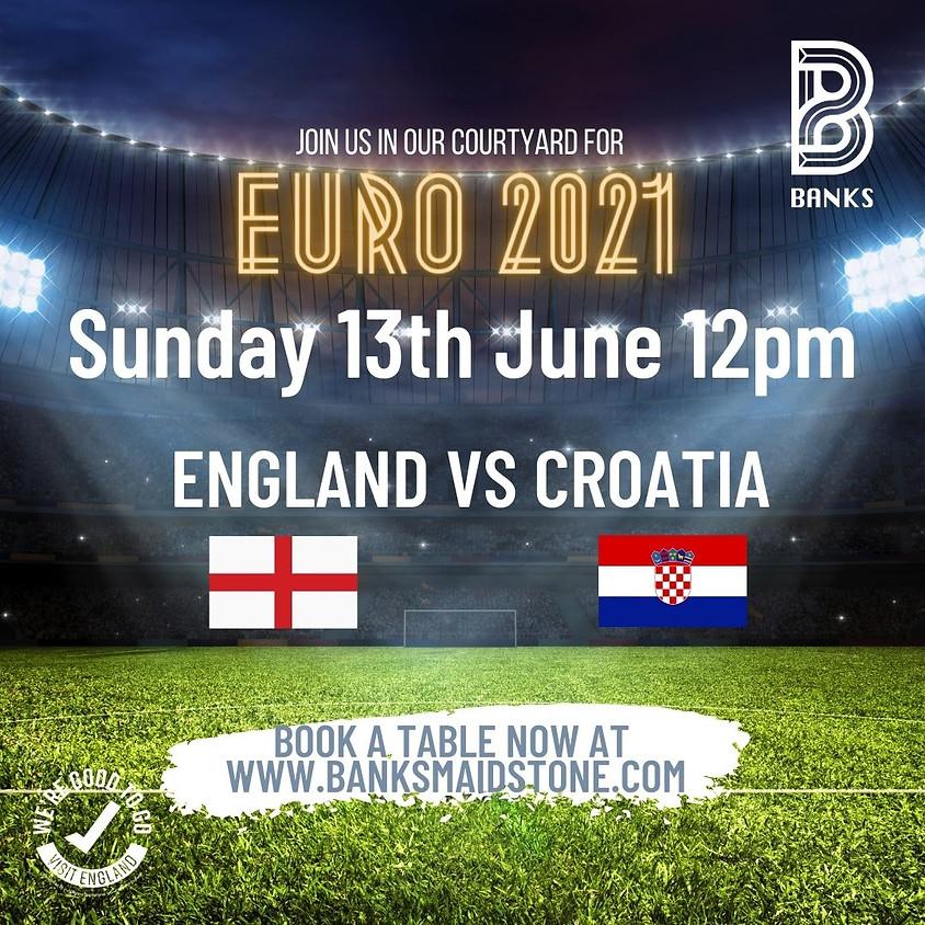 EUROS 2021- ENGLAND vs CROATIA