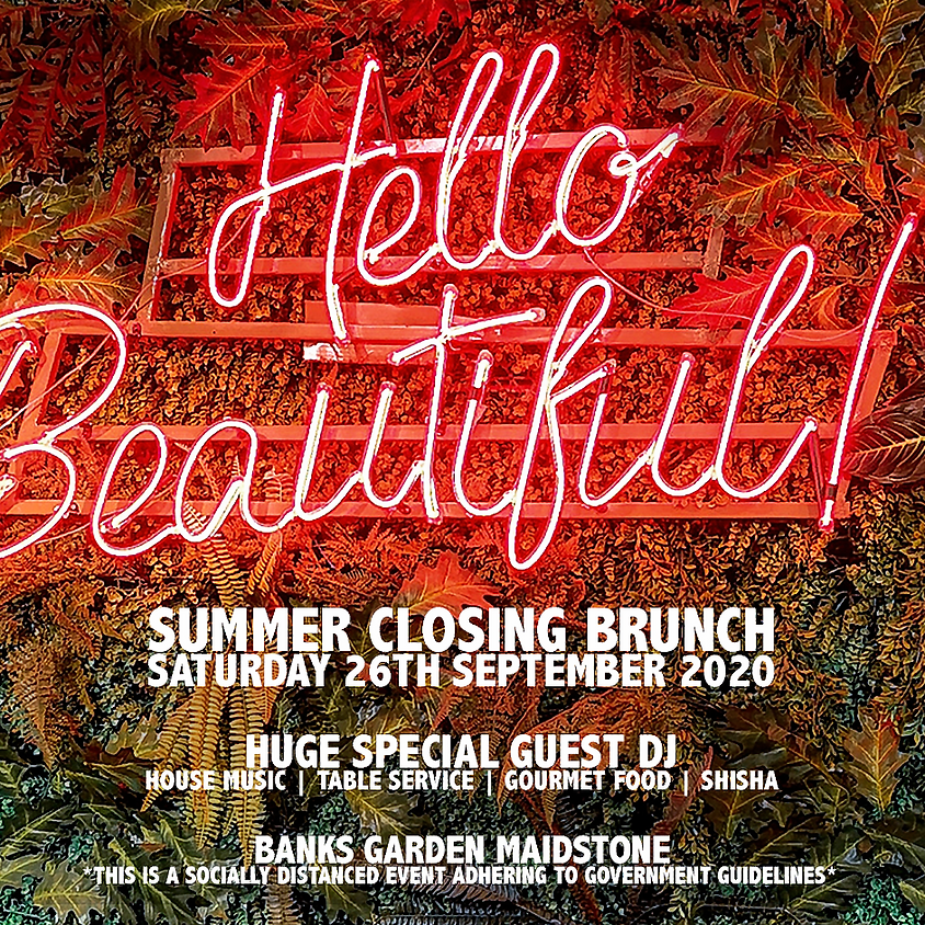Founded_presents: Summer Closing Brunch