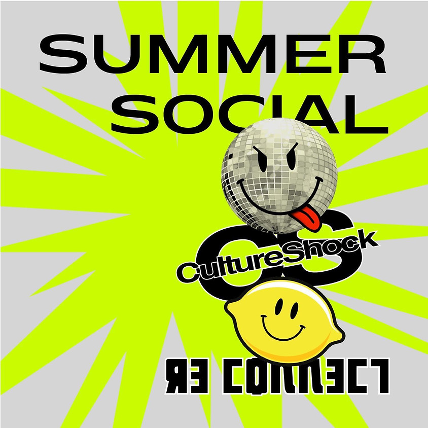 Summer Social with Havin It Radio, Re-Connect & Cultureshock
