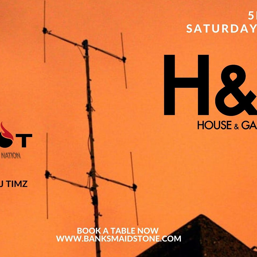 Banks Re-opening: House & Garage with DJ Redhot