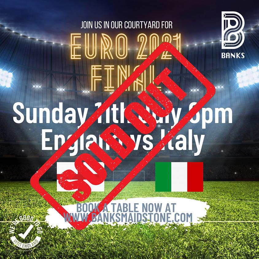 EURO 2021- FINALS England vs Italy