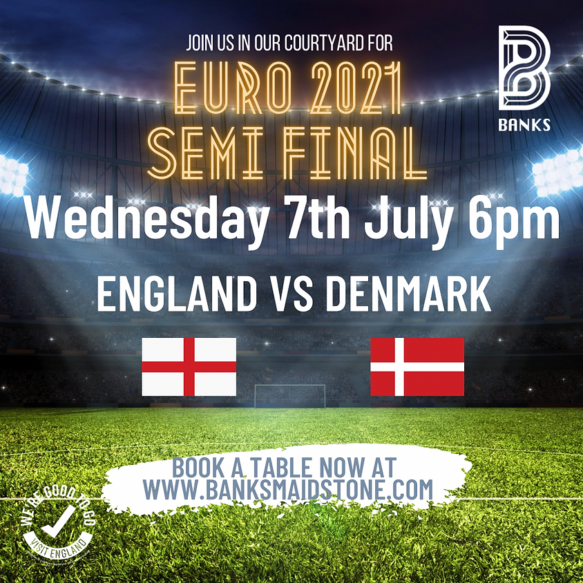 EURO 2021- SEMI FINALS England VS Denmark