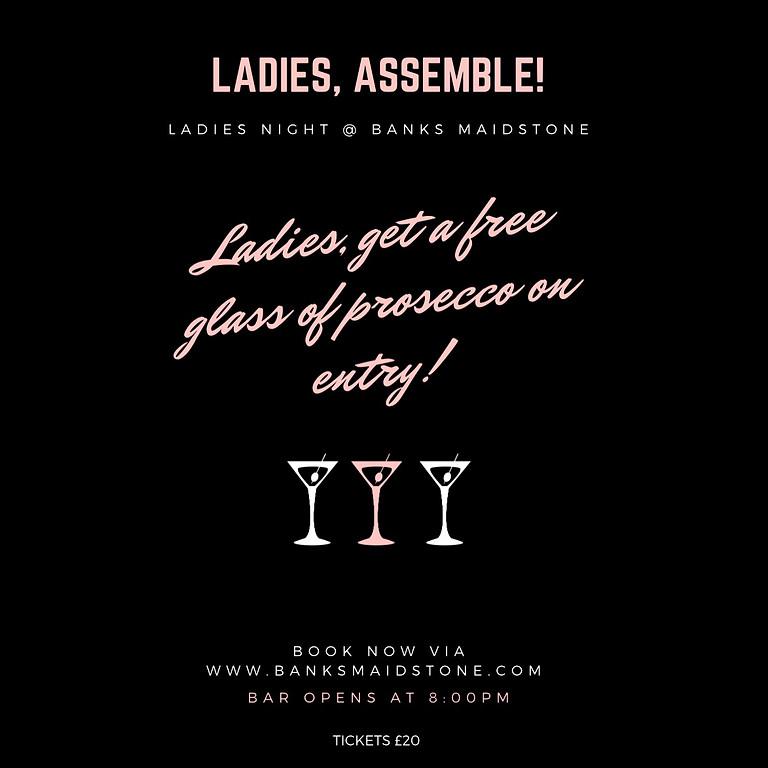 Ladies Night @ Banks💃🏽