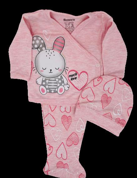 Mini Bunny- 10pcs Newborn Set