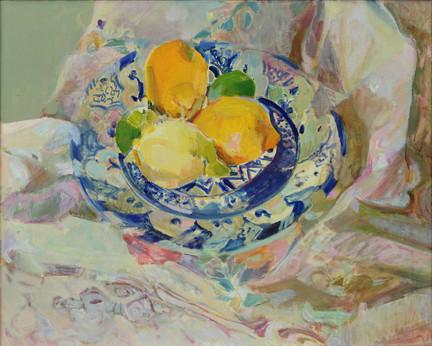 Lemons on a Moorish Plate