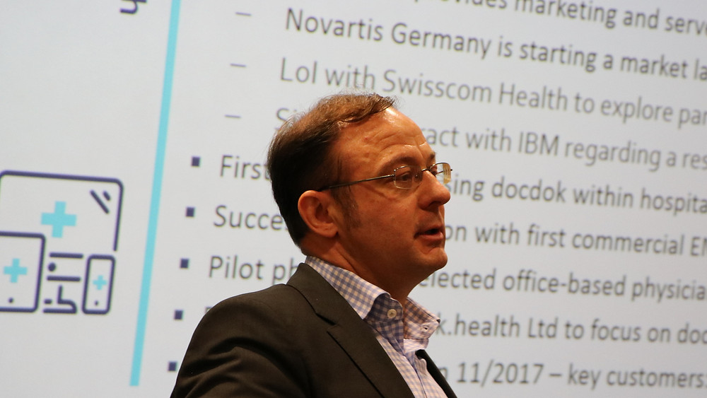 docdok.health CEO Ulrich Mühlner wants to relieve doctors and healthcare. (Source: Network Media)