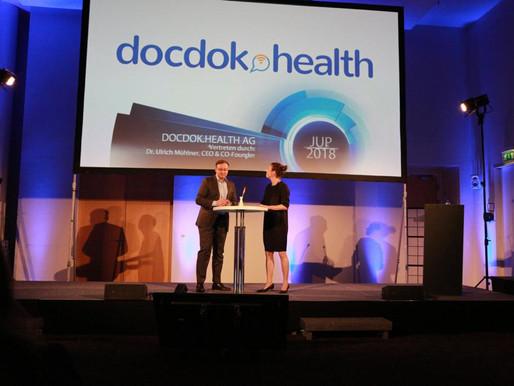 docdok.health gewinnt den 2. Platz beim Jungunternehmerpreis Nordwestschweiz 2018!