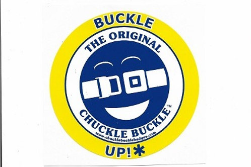 """Chuckle Buckle™ 5"""" Round Window Cling"""
