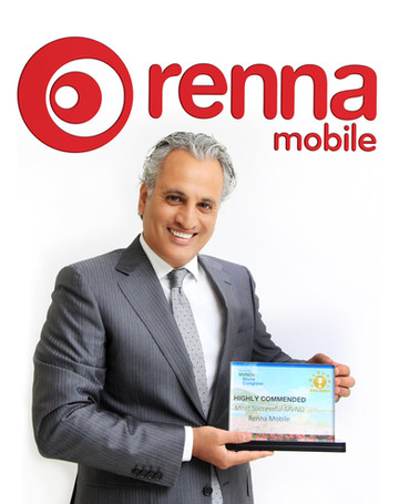"Renna Mobile wins International Award as ""Most Successful MVNO"" at The MVNO World Congress in France"