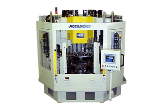Accu cut diamond tool honing bore sizing 12 spindle integrated gaging automatic tool compensation machine