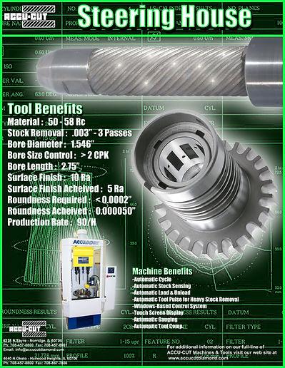 accu-cut diamond turbo steering house brochure